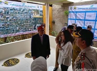 IPAL Komunal di Bandung Berfungsi Jadi Balai Pertemuan Warga