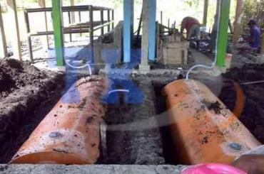 Ipal Biogas Tojo Tuna